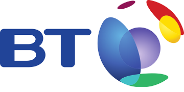 Logo for BT